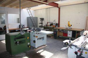 Restauratie center te Klarenbeek machinale afb. 1