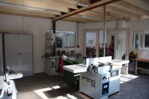 Restauratie center te Klarenbeek machinale afb. 2